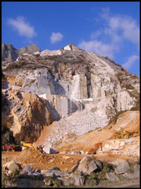 quarry of marble carrara